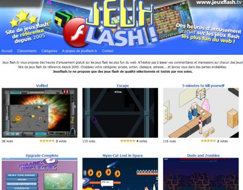 Jeux Flash Tv